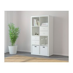 KALLAX - Shelving unit, white