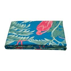SOMMARLIV - Tablecloth, bird/multicolour