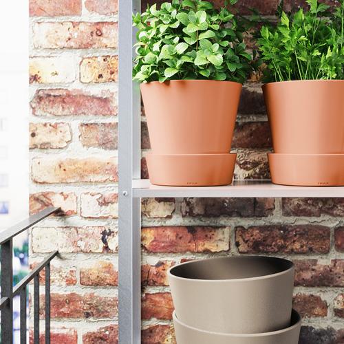 INGEFÄRA pot tanaman dengan alas