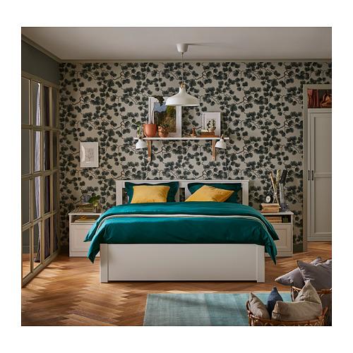 SONGESAND - rngk tmpt tdr dg 2 ktk penyimpanan, putih/Luröy, 160x200 cm | IKEA Indonesia - PH162919_S4