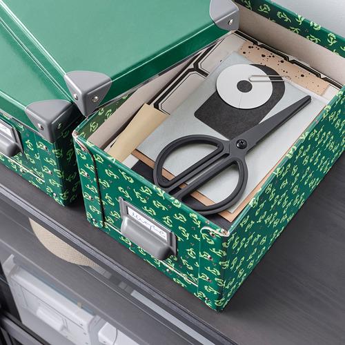 FJÄLLA kotak penyimpanan dengan penutup