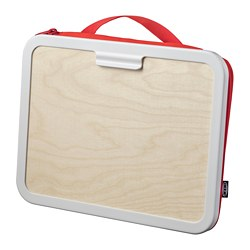 MÅLA - Portable drawing case, red