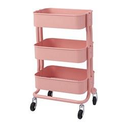RÅSHULT - Troli, merah muda-merah