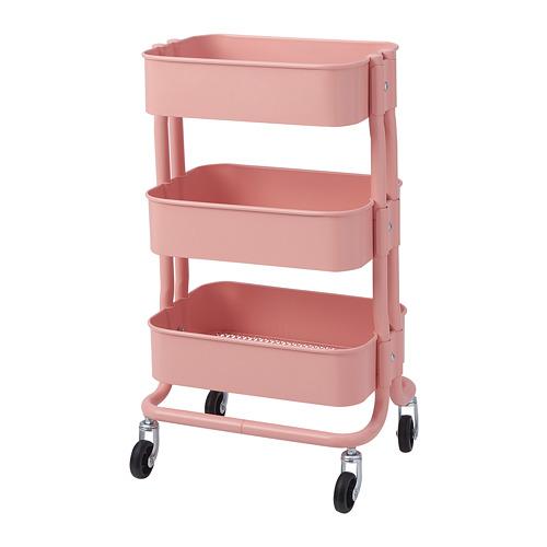 RÅSHULT - troli, merah muda-merah, 38x28 cm   IKEA Indonesia - PE782695_S4