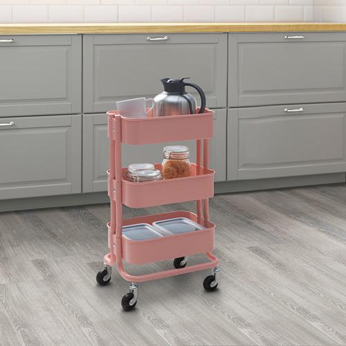 RÅSHULT - troli, merah muda-merah, 38x28 cm   IKEA Indonesia - PE782696_S4