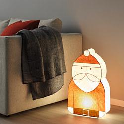 STRÅLA - LED decoration lighting, Santa Claus