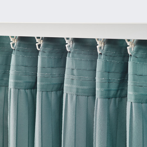 ELDTORN room darkening curtains, 1 pair