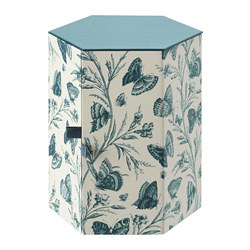 ANILINARE - Decoration box, green/butterfly paper