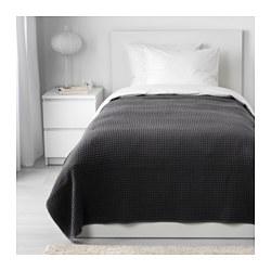 VÅRELD - Penutup tempat tidur , abu-abu tua