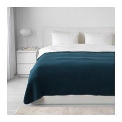 VÅRELD - Penutup tempat tidur , biru tua