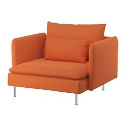SÖDERHAMN - Armchair, Samsta orange