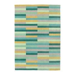 KRÖNGE - Karpet, bulu tipis, buatan tangan/aneka warna