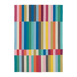 HALVED - Karpet, anyaman datar, buatan tangan aneka warna