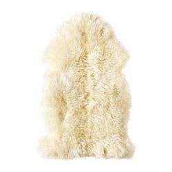 LUDDE - Kulit domba, putih