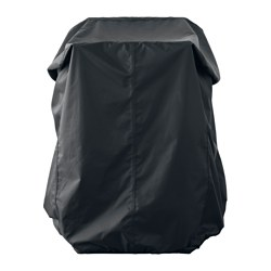 TOSTERÖ - Sarung penutup set perabot, hitam