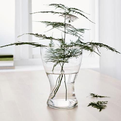 VASEN - vase, clear glass, 20 cm | IKEA Indonesia - PE584235_S4
