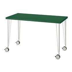 KRILLE/LINNMON - Table, green/white
