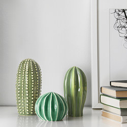 SJÄLSLIGT - Decoration set of 3, green