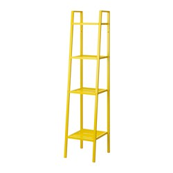 LERBERG - Shelf unit, yellow