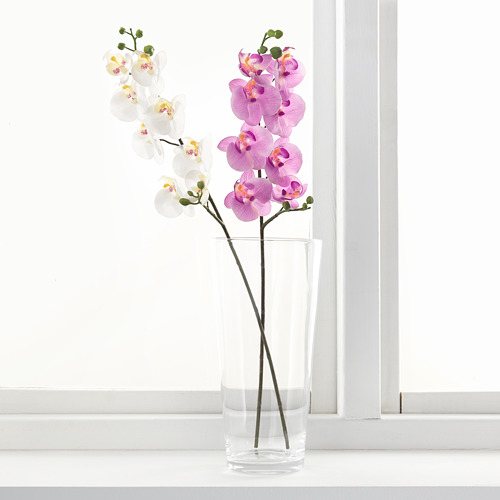 SMYCKA - artificial flower, Orchid/white, 60 cm | IKEA Indonesia - PE596754_S4