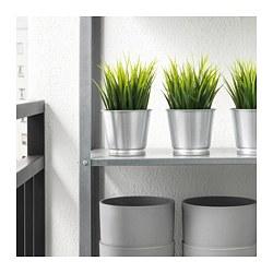 BINTJE - Plant pot, galvanised