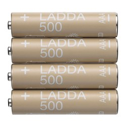 LADDA - Rechargeable battery