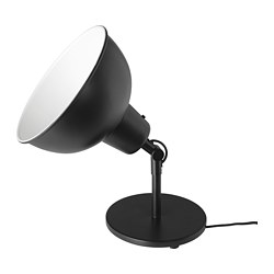 SKURUP - Table/wall uplighter, black