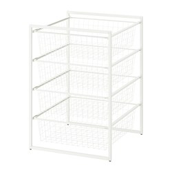 JONAXEL - Frame with wire baskets