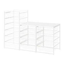 JONAXEL - Frame/wire baskets/top shelves
