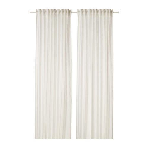 DYTÅG - curtains, 1 pair, white, 145x250 cm   IKEA Indonesia - PE769366_S4