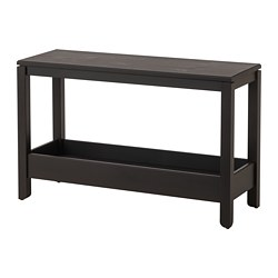 HAVSTA - Console table, dark brown