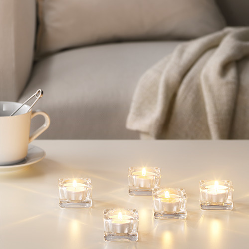 SINNLIG - lilin kecil beraroma, Sweet vanilla/alami | IKEA Indonesia - PE630319_S4