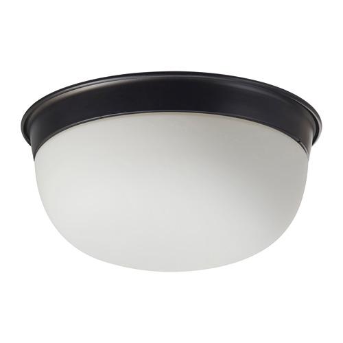 SKURUP - lampu plafon/dinding, hitam, 25 cm | IKEA Indonesia - PE682570_S4