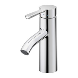 DALSKÄR - Wash-basin mixer tap with strainer, chrome-plated