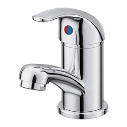 OLSKÄR - Wash-basin mixer tap, chrome-plated
