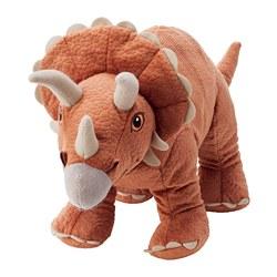 JÄTTELIK - Boneka, dinosaurus/dinosaur/triceratops, 46 cm