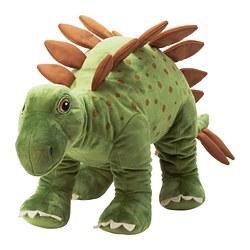 JÄTTELIK - Boneka, dinosaurus/dinosaur/stegosaurus, 75 cm