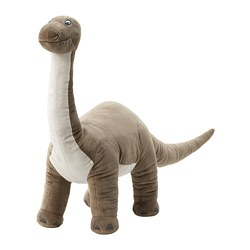 JÄTTELIK - Boneka, dinosaurus/dinosaur/brontosaurus, 90 cm