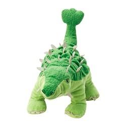 JÄTTELIK - Boneka, egg/dinosaur/dinosaur/ankylosaurus, 37 cm