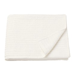 VÅGSJÖN - Bath towel, white