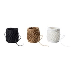 GIVANDE - Ribbon, black/beige/white