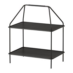 YPPERLIG - Magazine stand, dark grey