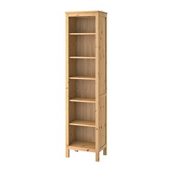HEMNES - Bookcase, light brown, 49x198 cm