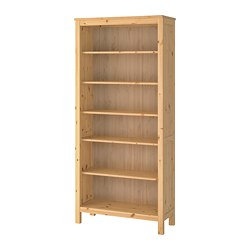 HEMNES - Bookcase, light brown, 90x198 cm