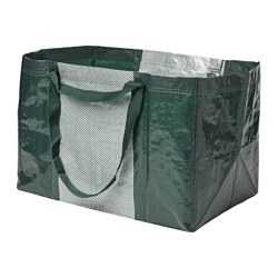 YPPERLIG - Carrier bag, large, green