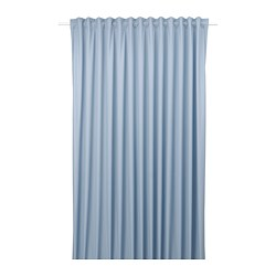 BENGTA - BENGTA, block-out curtain, 1 length, blue, 210x250 cm