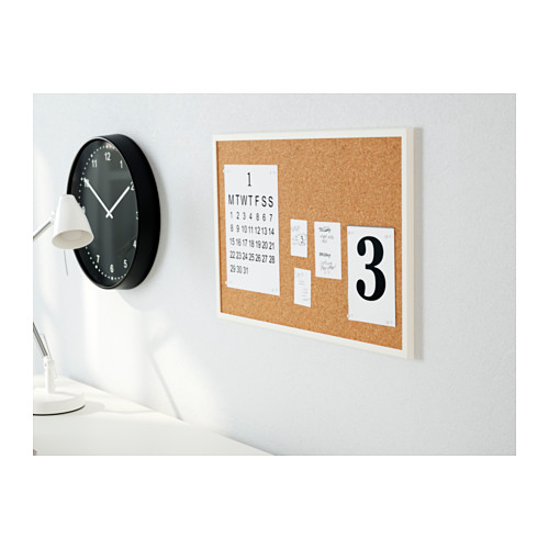 VÄGGIS papan memo dengan pin