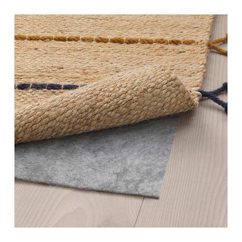 RAKLEV karpet, anyaman datar