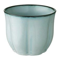 SÖTKÖRSBÄR - Plant pot, grey