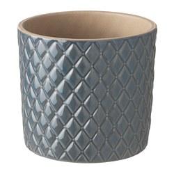 CHIAFRÖN - Plant pot, grey